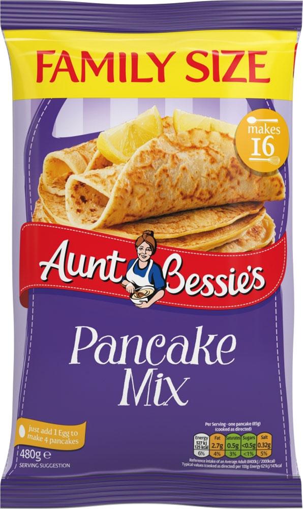 Aunt Bessie's Pancake Mix (480g) - 89p @ B&M