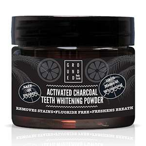 Activated Charcoal Teeth Whitening Powder 10p with promo voucher from Amazon (with Prime)