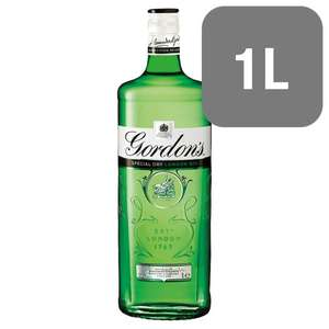 1litre of Selected Spirits (Smirnoff/Gordon's/Bacardi/Bell's/Greenalls) for £16 @ Tesco Online and In-Store