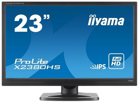 "iiyama ProLite X2380HS-B1 23"" IPS Widescreen LED Monitor with 5 year warranty £114.99 @ Box.co.uk"