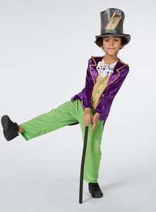 Willy wonka costume at Sainsbury's world book day - £7.50 + £3.95 Delivery (Free C&C over £15)