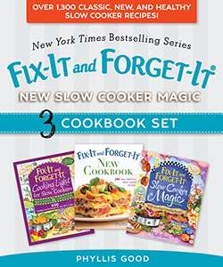 Fix-It and Forget-It New Slow Cooker Magic Box Book Set  £1.49 @ Amazon Kindle