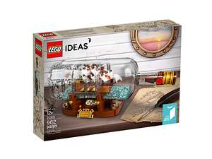 Lego shop ideas, ship in a bottle set - £69.99 @ LEGO Shop