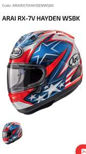 20% off all motorbike helmets plus free helmet bag and delivery @ lids direct using code PAYDAY