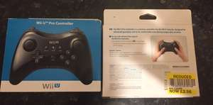 Wii U pro controller Tesco instore @ £2.56 super bargain (found Glasgow / could be national)