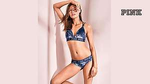 Victoria's Secret PINK Velvet Bralette & Panty perfect for Valentines £20 (With code) + £7.99 P&P LIMITED TIME
