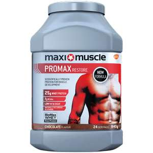 Up to 50% off sale on Maxinutrition + An additional 10% off with code