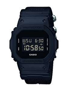 Casio Men's G-Shock Digital Watch with Cloth Strap DW-5600BBN-1ER - £55.83 @ Amazon