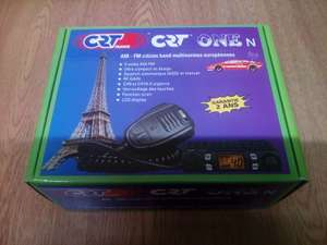 CRT ONE N AM FM CB RADIO + MOONRAKER MAGMOUNT + CIG LIGHTER ADAPTER £54.95 @ nocando01 eBay