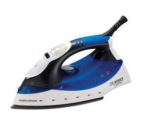 Morphy Richards Turbosteam 40679 Steam Iron now £10.50 delivered @ Currys eBay Store
