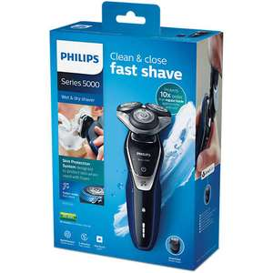 Phillips 5000 wet dry shaver £200 > £63.75 with code (2 year warranty free P&P)