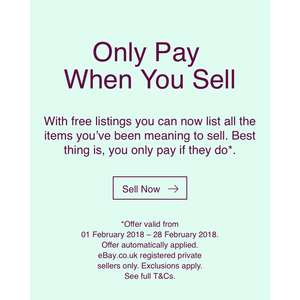 eBay - only pay when you sell.