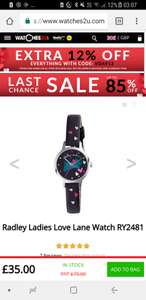 pretty ladies Radley Love Lane watch RY2481 £30.80 with code @ watches2u