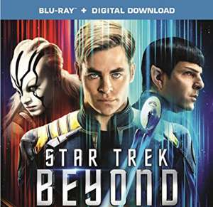 Star Trek Beyond (Blu-ray + Digital Download) £4.49  (Prime) / £6.48 (non Prime) at Amazon