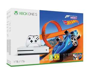 Xbox One S 1TB Bundle With Forza 3 Hotwheels DLC + 3 months Xbox Live Gold - £209 @ Tesco Direct (Free C+C)