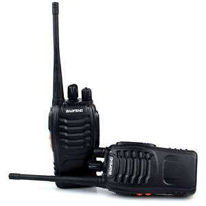 2x Baofeng Walkie Talkie Long Range 2 way Radio including charger battery and earpiece £16.99 delivered @ ebay teckdeals