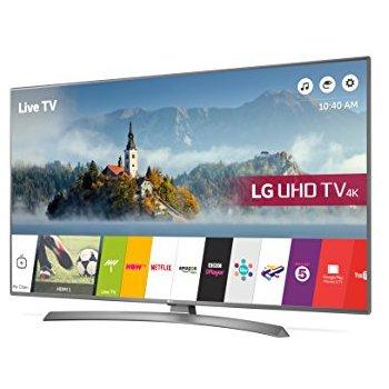 "LG43UJ701V 43"" Smart 4K Ultra HD HDR LED TV £369 at Currys"
