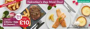 Iceland Valentine's Meal Deal for 2 £10