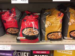 Waitrose Granola Love Life BIG 1kg. 25% off, and further 20% off with PYO - £1.38