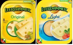 Leerdammer Original or Light Cheese Slices 160g Reduced to £1.00 each @ Tesco