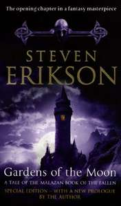 Gardens of the Moon (Malazan: Book of the Fallen #1) by Steven Erikson 99p on Kindle @ Amazon