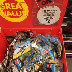 Selected Lego poly bags £2.00 each at The Entertainer instore (Bolton)