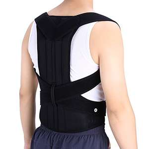 ZJchao Posture Correction Kyphosis Thoracic Shoulder Back Waist Support Brace £19.18 Prime/ £23.17 Non Prime Sold by zjchao and Fulfilled by Amazon