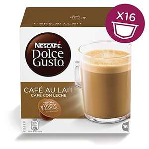 £11.40 With Subscribe & Save NESCAFÉ Dolce Gusto Cafe Au Lait 48 x Capsules at Amazon