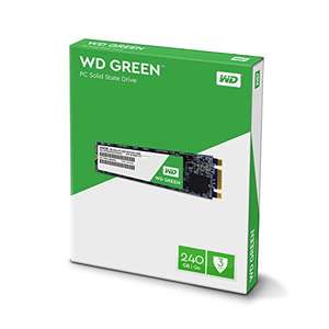 Western Digital 240GB WD GREEN M.2 2280 SSD - WDS240G1G0B - £68.02 Amazon