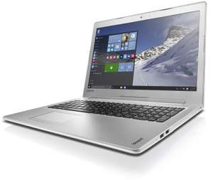 Lenovo IdeaPad 510 (15) Laptop - White, £499.97 from Ebuyer