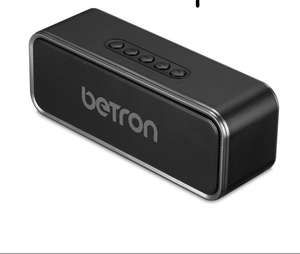 Betron D51 Bluetooth Speaker Wireless System for Iphone, Ipod, Ipad, Smartphones , Mp3 Players, Computers and Tablets (Lightning Deal) - £12.79 (Prime) £17.54 (Non Prime) @ Sold by Betron Limited ( VAT Registered) and Fulfilled by Amazon