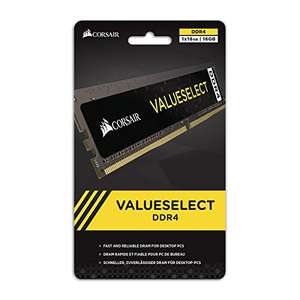Corsair 1x16GB DDR4 memory @ 2400Mhz £123.98 Amazon (only for prime members)