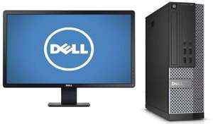 "Refurbished Dell i5 4570 & P2214H 22"" TFT Screen inc warranty & delivery. £188.10 @ itzoo"