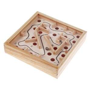 Wooden Labyrinth Puzzle Maze £1.03 Del w/code @ GearBest