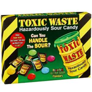 Toxic Waste Sour Candy (340g) - £2.99 @ B&M