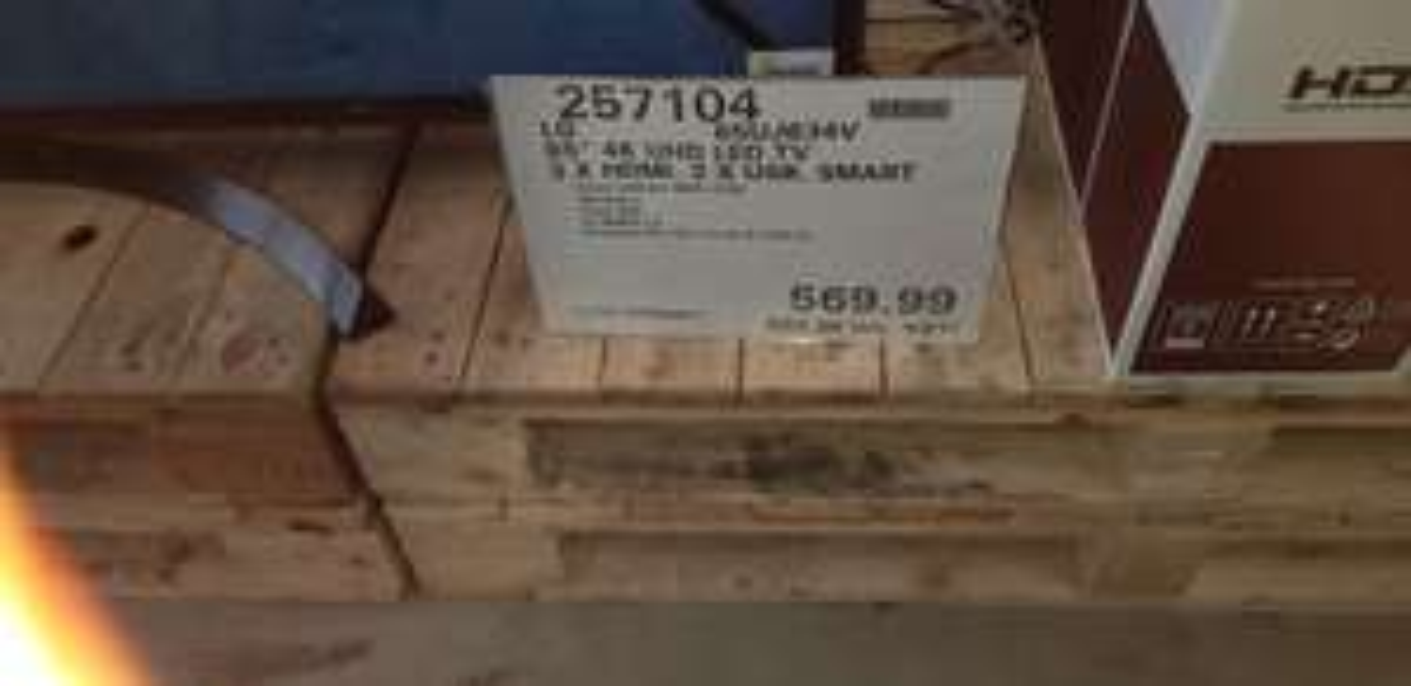 """65"""" LG 4K UHD TV 65UJ634V £683.98 @ Costco."""