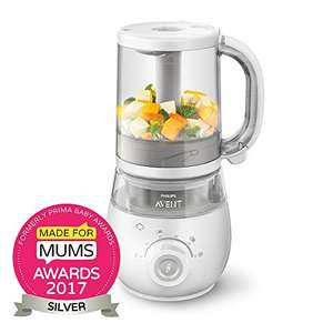 Philips Avent 4-in-1 Healthy Baby Food Maker (rrp £140) £79.97 DOTD @ Amazon ( + Free MAM Baby Bottle for Prime Members - see op)