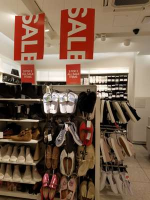 H&m - 3 for 2 on sale items (up to 70%) instore
