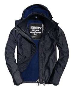 Mens Superdry Pop Zip Hooded Arctic Sd-Windcheater Jackets - SuperDry eBay - £35.99