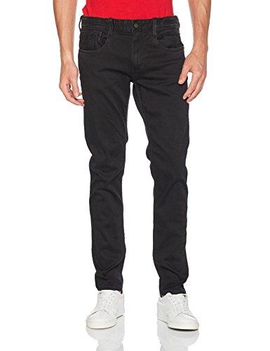 Replay Men's Anbass Slim Jeans (Black) Waist: 29, Leg: 32 £30.90 @ amazon.co.uk (RRP:£125)