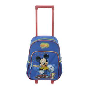 Child's mickey mouse trolley case / backpack £4.99 + £3.99 delivery or free over £35 - xs-stock