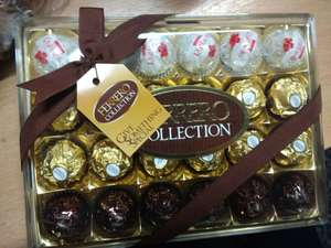 Ferrero Rocher Collection - 269g for £2.40 instore @ Tesco