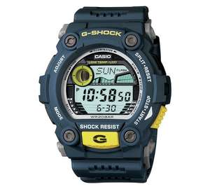 Casio G-Shock Illuminator Blue and Yellow Watch (G-7900-2ER) half price now £49.99 @ Argos (£81 elsewhere) - more in OP eg Seksy Ladies' Brown Dial Rose Gold Colour Bracelet Watch was £99.99 now £39.99