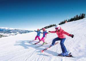 From London: 7-14 April 7 Nights Ski Holiday including Flights, Accommodation, Car Hire & Lift Pass and Ski Hire for 4 People (Adults or Children) £262.17pp (Total £1048.71) @ Snowtrex