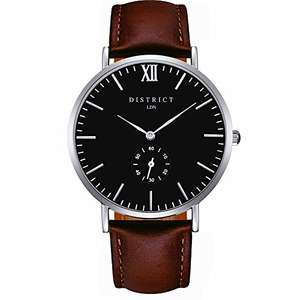 DISTRICT London Masters Edition - Men's Watch - Only £20 @ Sold by Bermontgroup LTD and Fulfilled by Amazon