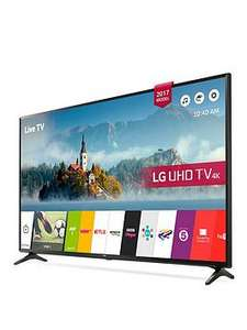 LG 49UJ630V 49 inch, 4K Ultra HD HDR, Freeview Play, Smart, LED TV - £429 @ Very