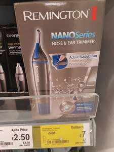 Remington NANO Series Nose & Ear Trimmer - £7 in-store at ASDA (Bridge of Don, Aberdeen)