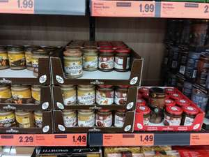 Lidl Meridian Cocoa Peanut Butter / Coconut & Peanut Butter 280g each, £1.99