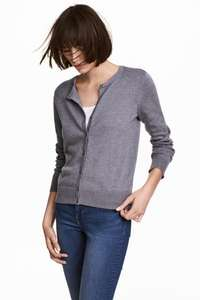 100% Cotton Cardigan for £2.62 delivered using H&M Club rewards @ H&M