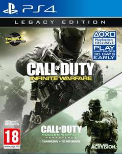 Call of Duty: Infinite Warfare - Legacy Edition PS4 & Xbox - £14.99 @ Game